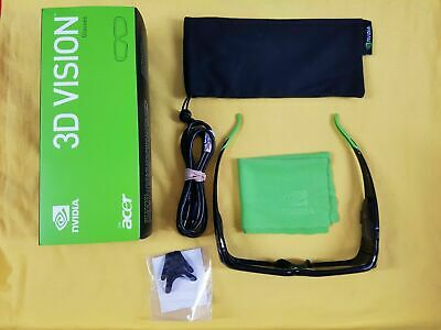 Nvidia 3D Vision Wireless Glasses Boxed 098