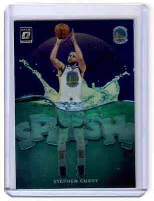 2019-2020 Panini Optic Purple Splash #4 Stephen Curry Golden State Warriors
