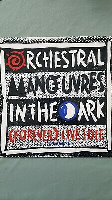 Orchestral Manoeuvres In The Dark. ... (Forever) Live And Die Vinyl 12inch...