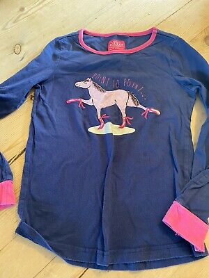 Gorgeous Girls Joules Long Sleeved Top Age 8 Excellent Condition
