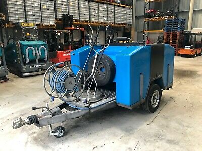 Diesel Hot Pressure Washer Edge Grime-Buster Trailer Mounted Only !!! 754Hrs !!!