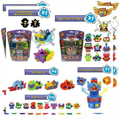 SuperZings Series 5 - Blister Pack 10 with 1 Gold; Aerowagon...