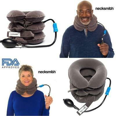 Necksmith Cervical Neck Traction Device  Inflatable Decompression Neck And Shou