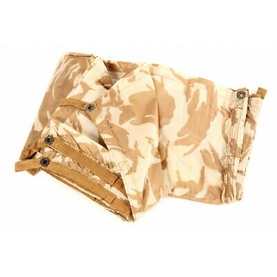 British Army Desert Basha Sheet Shelter Poncho Waterproof Genuine Issue Brand Ne