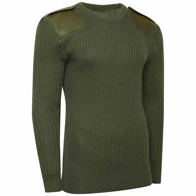 British Army Olive Green Jumpers Wool Brand New Genuine Issue Military Combat Na