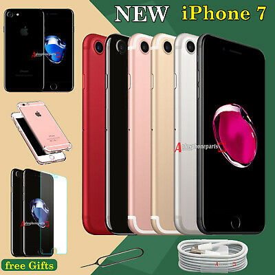 NEW 32GB 128GB 256GB Unlocked Apple iPhone 7 Mobile Smartphone All Colors UK