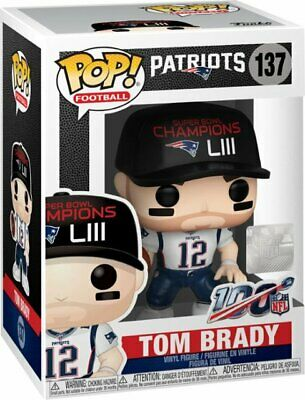NFL Patriots Tom Brady (Super Bowl Champions LIII) Funko POP!