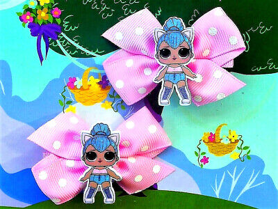 LOL Surprise Kitty Queen Inspired Handmade Hair Clips Series 2 Rare Doll Toy