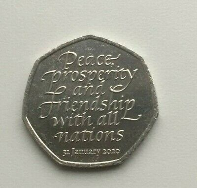 Brexit 50p coin