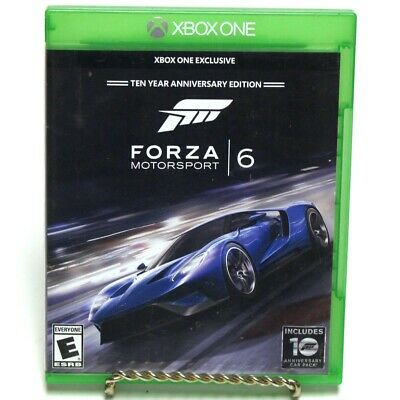 Forza Motorsport 6 Video Game for Microsoft Xbox One Ten Year Annive (GO1039521)