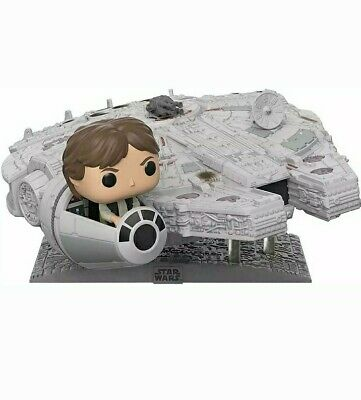 Funko POP!  Star Wars: Millenium Falcon w Han Solo - Exclusive 321 Deluxe!