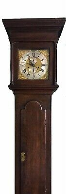 antique longcase grandfather clocks pre-1900 By J Wilks Of Wolverton.