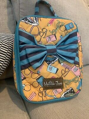 Matilda Jane Make The Grade Backpack And Lunch Bunch Lunchbox Set NWT New In Bag