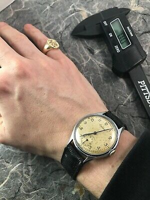 Certina Vintage 1940s WWII Era Fully Working Swiss Watch