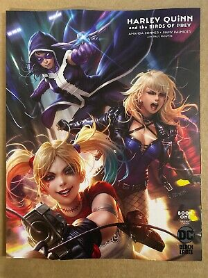 Harley Quinn Birds Of Prey #1 Variant Cover Dc Comics (2020) Batman Black Label