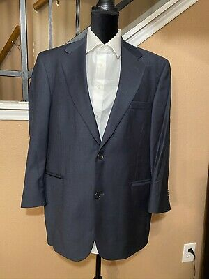 PALM BEACH BLAZER OF CHAMPIONS NAVY BLUE 2 BUTTON SPORT COAT JACKET Size 42S