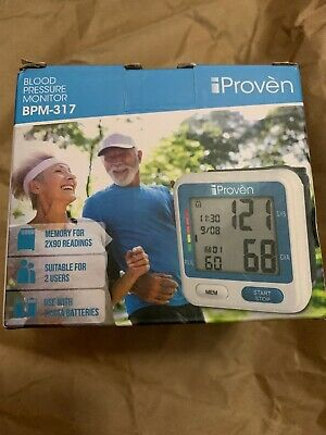 iProven Wrist Cuff Blood Pressure Monitor Watch Digital Home Meter Machine
