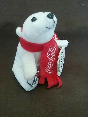1999 Coca Cola Bean Bag Plush with Magnet