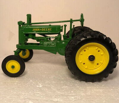 Vintage Ertl John Deere Tractor Diecast High Post Model B With Dual Rear Wheels