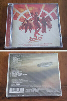 Solo: A Star Wars Story [Original Motion Picture Soundtrack] New & Sealed CD