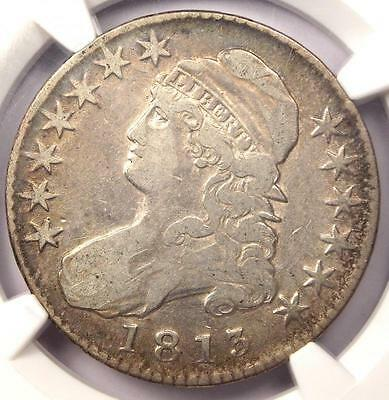 1813 Capped Bust Half Dollar 50C - NGC VF Details - Rare Certified Coin