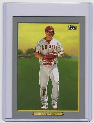 MIKE TROUT 2020 Topps Series 1 BOX TOPPER TURKEY RED #OTR-1 Angels