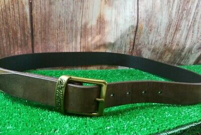 Dr Martens Buckle 100% Leather Mocha Belt Size M ,107 Cm