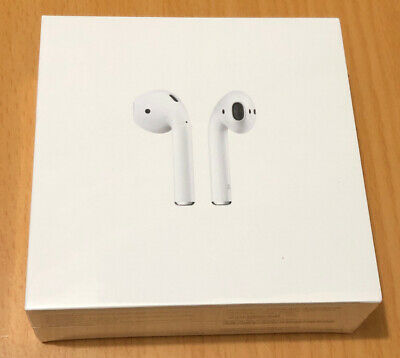Genuine APPLE AirPods with Charging Case (2nd generation) - White - New Sealed