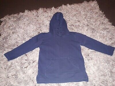 Boys blue hooded top from matalan age 6 years
