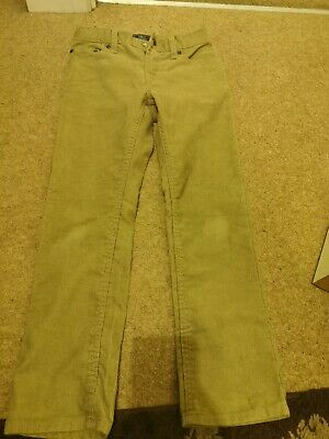 Boys Brown Jeans Trouser Age 8 - 9years