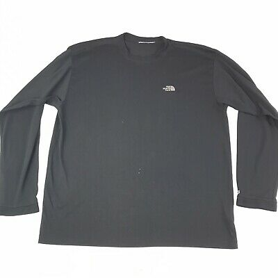 The North Face Mens Long Sleeve Polyester Shirt Size XL #1044