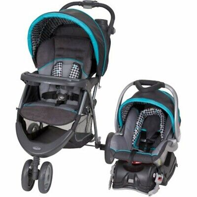 Baby Trend Stroller Car Seat Travel System Infant Toddler EZ Ride 5 Set New