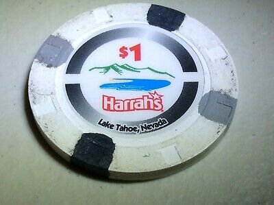 Harrah's - Lake Tahoe, NV $1 House Casino Chip
