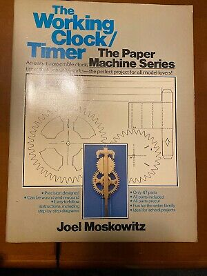 The Working Clock/Timer: The Paper Machine Series Book