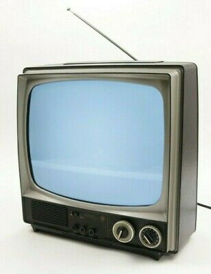Rare Vintage General Electric GE Performance Television TV Retro Clean Working