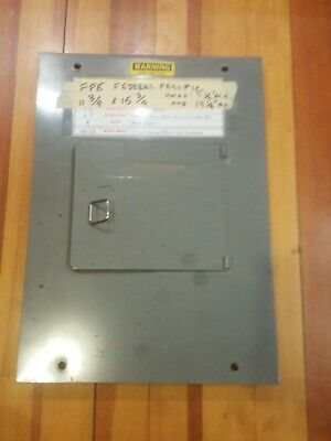 Federal pacific stab lok panel box cover