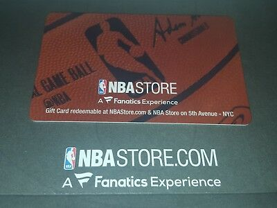 NBA Store 2x $100.00 Gift Cards. The total value is $200.00 (plastic gift cards)