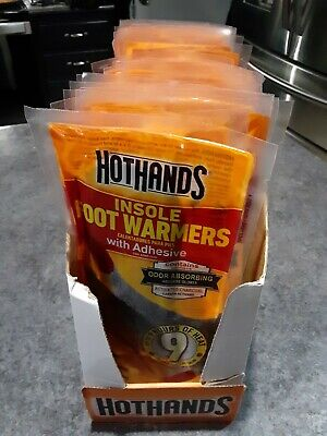 HotHands Insole Foot Warmers - Long Lasting Safe- Up to 9 Hours of Heat -42 Pair