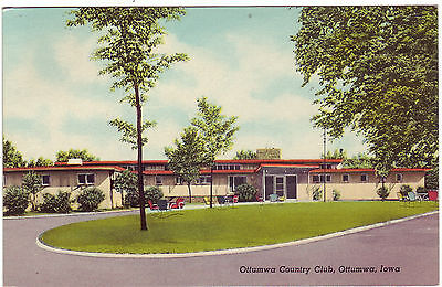 Ottumwa Iowa Ottumwa County Club posted Selam Iowa 1953