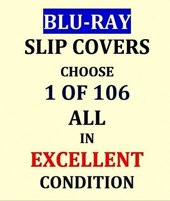 BLU-RAY Slip Cover(s) ONLY - Rambo, Joker, Vice Squad, etc. - PICK ONE or more