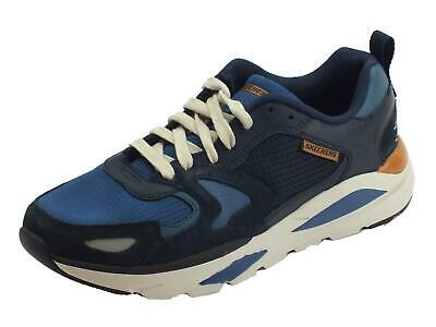 Abstracción explotar Fácil de leer  SKECHERS STREETWEAR 66020 / Navy Verrado Brogen Men's Shoes Fitting  Comfortable - £64.45 | PicClick UK