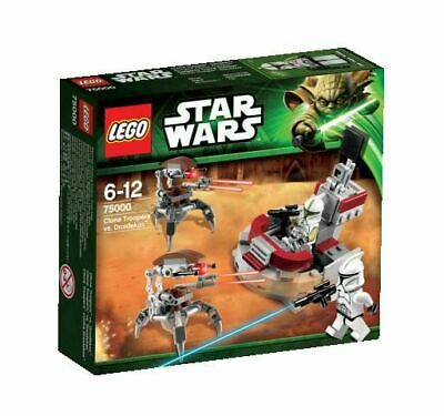 Lego Star Wars 75000 Clone Troopers Vs Droidekas ++ 100% Neuf Boite Scelle  ++