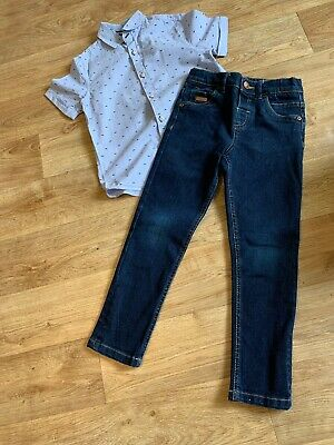 Age 5-6 Boys Next Shirt  And Ted Baker Jeans