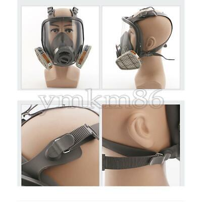 New Full Face Gas Mask Respirator Protect Painting Spraying 6800 Facepiece Tool