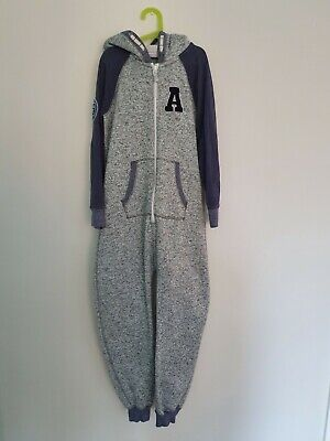 Girls Next grey one piece / all in one night wear aged 12 years superb condition