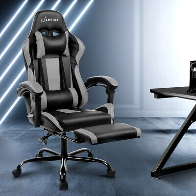 Artiss Gaming Office Chair Computer Leather Seating Racing Gamer Racer Chairs
