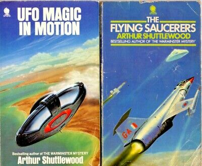 Ufo Magic In Motion & The Flying Saucerers By Shuttlewood Author Of Warminster