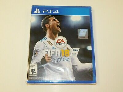 FIFA 18: Playstation 4 [Brand New] PS4 brand new factory sealed READ DESCRIPTION