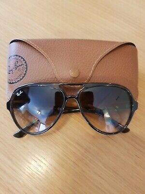 Ray-Ban Cats 5000 RB 4125 Tortoiseshell Sunglasses