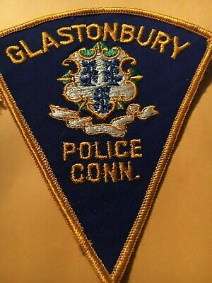 CONNECTICUT SPECIAL POLICE PATCH GLASTONBURY